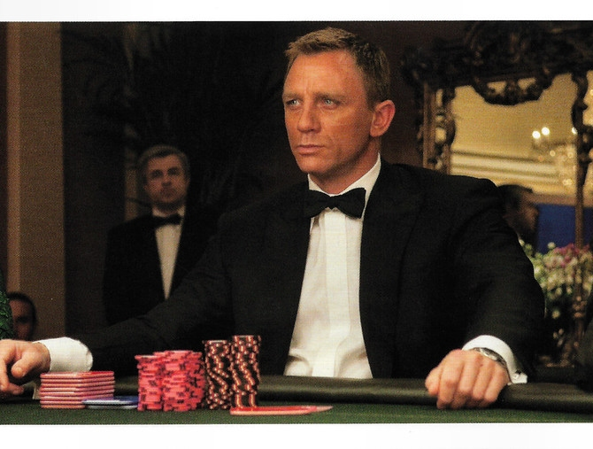 Daniel Craig's James Bond story